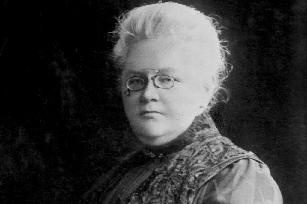 Muotokuva Ida Fellmanista.