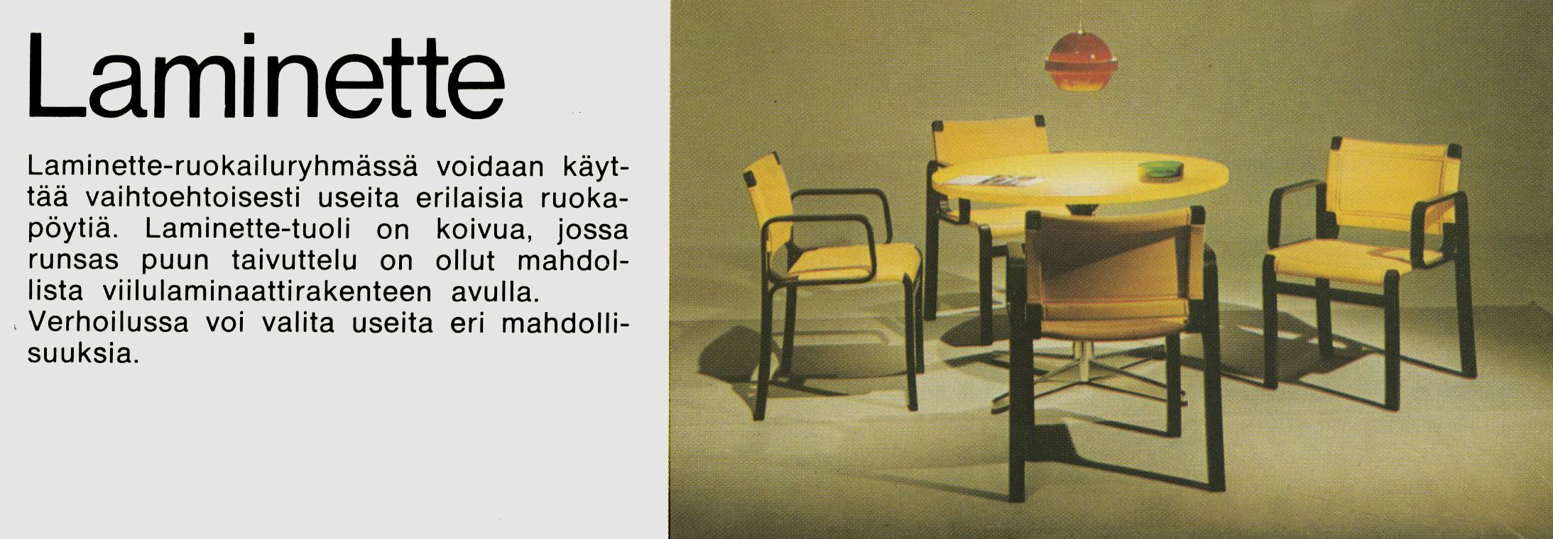 Tuoli Laminette.