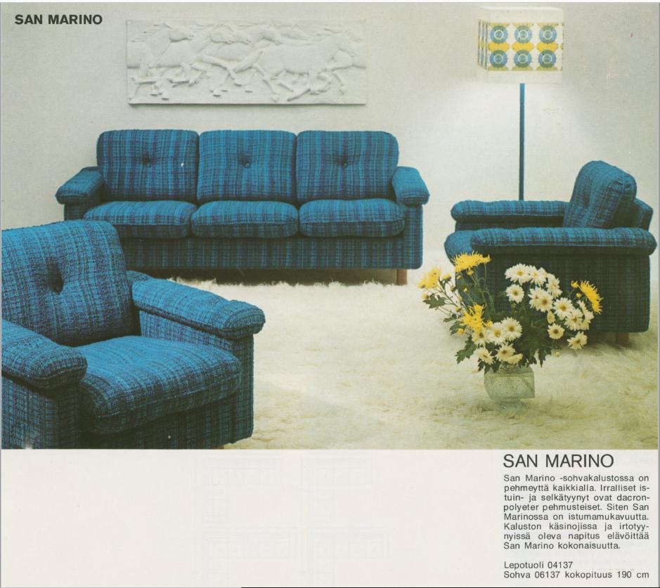 Sohvaryhmä San Marino.