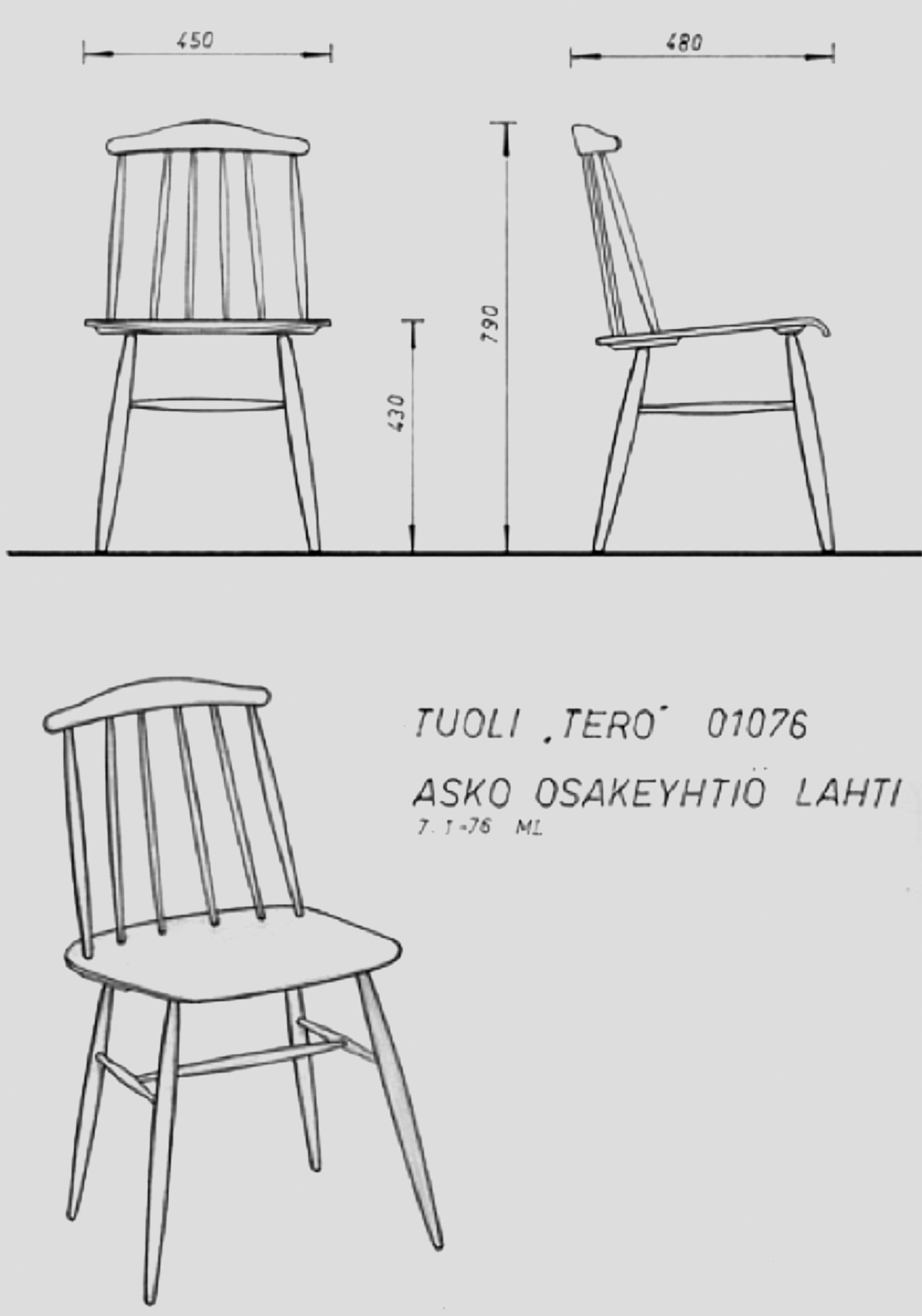 Tuoli Tero.
