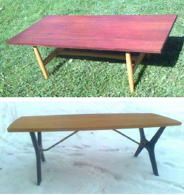 Pöydät nro 3426 ja Kontiki.